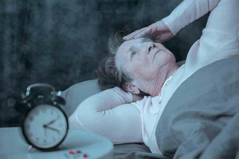 การนอนหลับยากของผู้สูงอายุ ความเครียด ความเครี