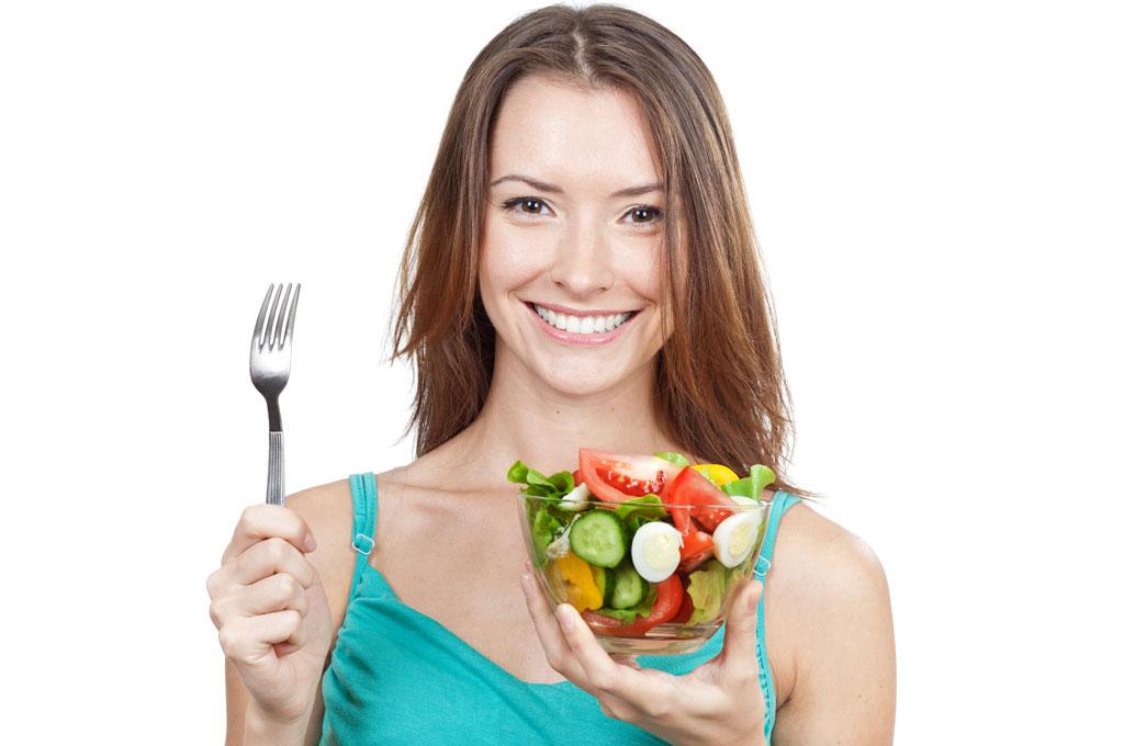 การเสริมสุขภาพจิต-รับประทานผักและผลไม้อยู่สม่ำเสมอ