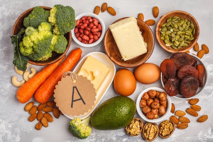 สารอาหารชะลอความแก่ Vitamin A