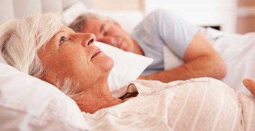 การนอนหลับยากของผู้สูงอายุ