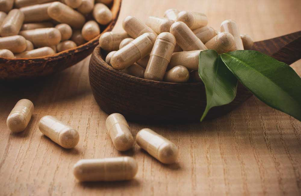 อาหารเสริมไฟเบอร์-ใยอาหาร เม็ด ที่มีลักษณะเหมือนยาเม็ด