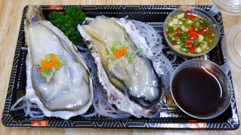 หอยนางรม อาหารทะเล