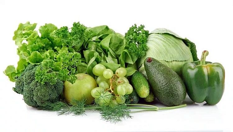 แหล่งอาหารที่มีคอลลาเจน-ผักใบเขียว