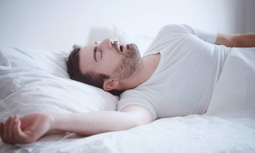 การแก้อาการนอนกรน