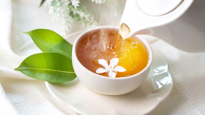 เครื่องดื่ม ชา-ชามะลิ