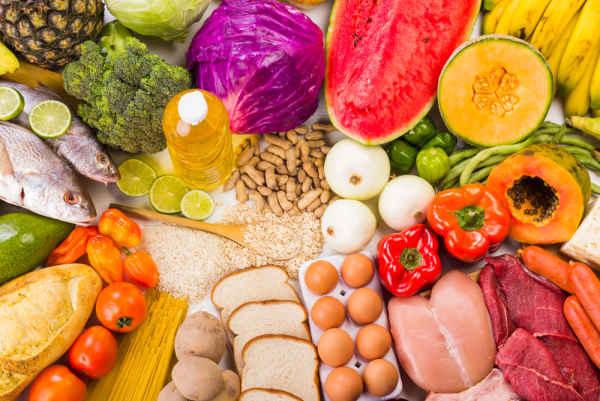 การเพิ่มน้ำหนัก-การกินอาหารให้ครบ 5 หมู่