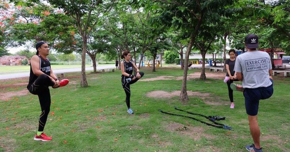 การวอร์มร่างกาย-ยืดเหยียดร่างกายแบบเคลื่อนไหว (Dynamic Stretching)