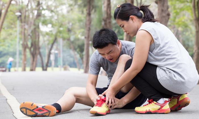 บาดเจ็บจาก การออกกำลังกาย