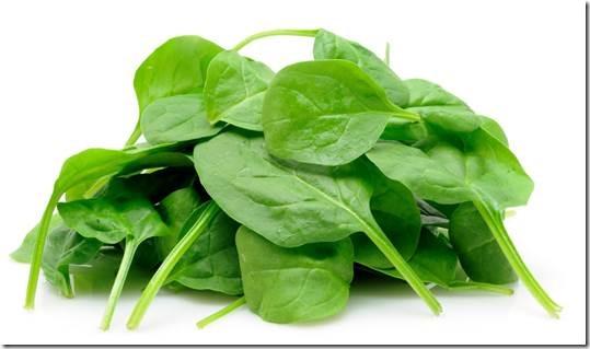 อาหารที่มีโปรตีนสูง - ผักปวยเล้ง